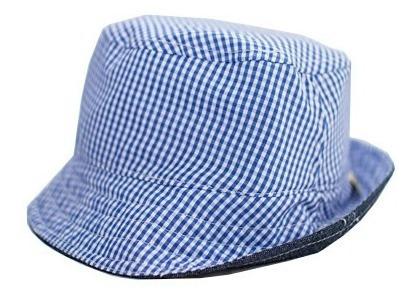 Sombrero Doble Vista Palolín Bebé Mascota Azul