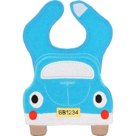 Babador Infantil Colibri Splish Splash - Carro Fusca Azul