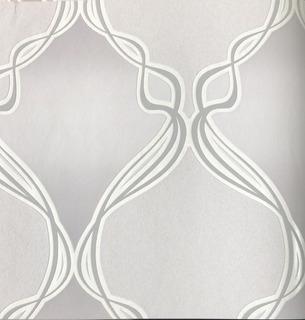 Papel De Parede Importado Orlean Geométrico, Quarto, Sala