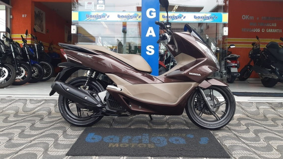 Honda Pcx 150 Dlx 2017 Marrom Impecável
