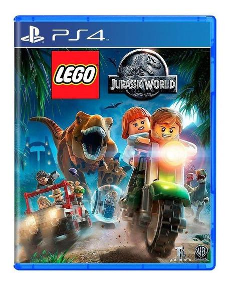 Lego Jurassic World Ps4 Mídia Física Pronta Entrega