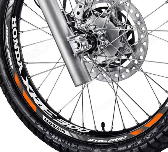 Friso + Adesivo Interno D5 Roda Moto Honda Xre 300