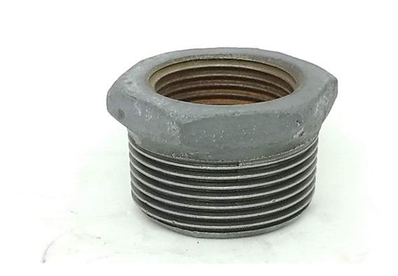 Conexão Ferro Galvanizado Bucha Redução 1.1/2 X 1 Npt 4 Uni