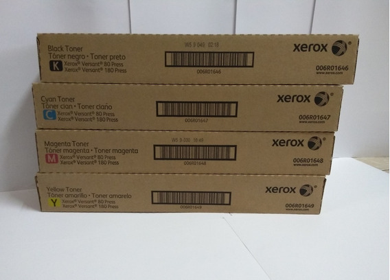 Kit Toner Xerox Versant 80/180 Original