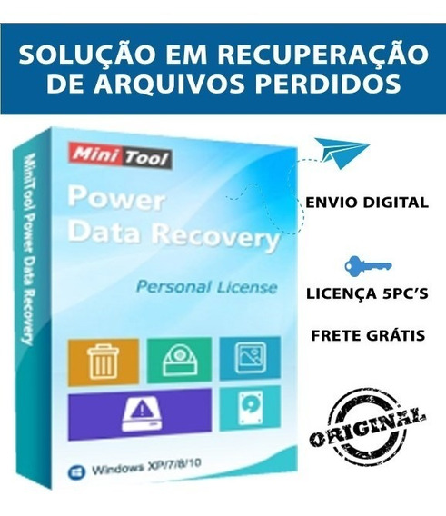 Mini Tool Power Data Recovery-5pc