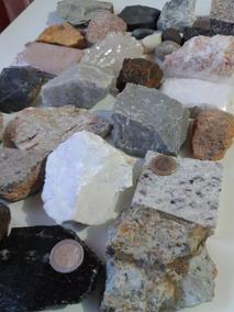 5 Lotes Coleção Kit De Rochas E Minerais Com 30 Unidades Geo