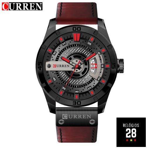 Relógio Masculino C/ Calendario Curren 8301