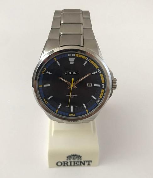 Relógio Orient Mbss1305 Aço Prata C/ Calendário
