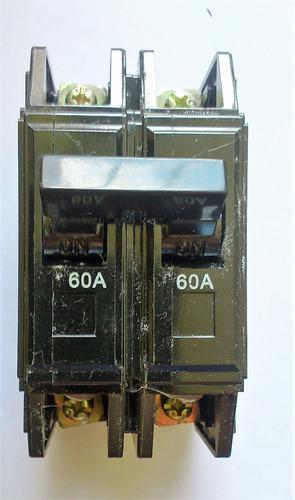 Breaker Superficiales 2x60amp¡ Interruptor 2x60