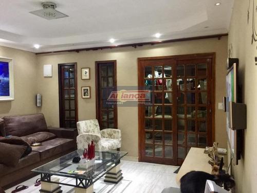 Sobrado Com 2 Dormitórios À Venda, 135 M² Por R$ 530.000 - Jardim Jovaia - Guarulhos/sp - Ai10287