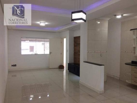 Casa Com 2 Dormitórios À Venda, 142 M² Por R$ 390.000 - Parque Novo Oratório - Santo André/sp - Ca1237