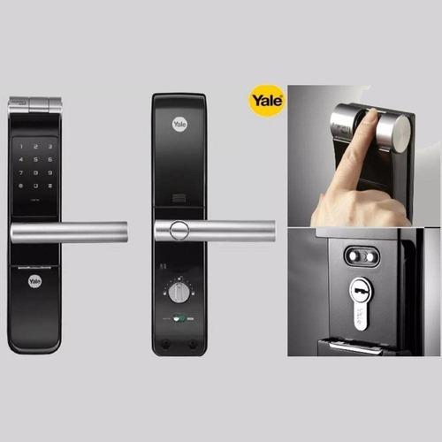 Chapa Digital Yale Ymf40  Cromo
