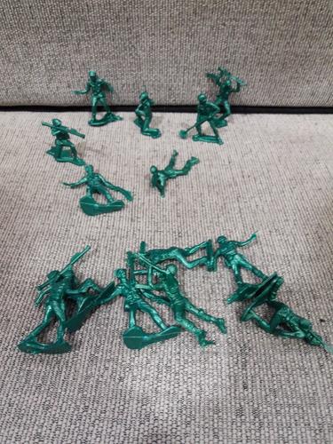 20 Soldados Plasticos Soldaditos Bolsa Gv72