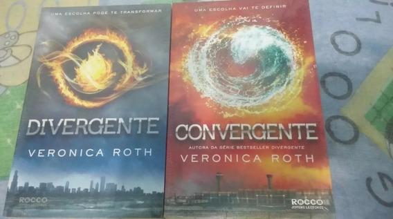 Kit Livro Divergente E Convergente