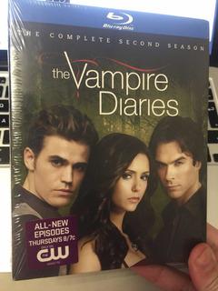 Blu Ray The Vampire Diaries Second Season