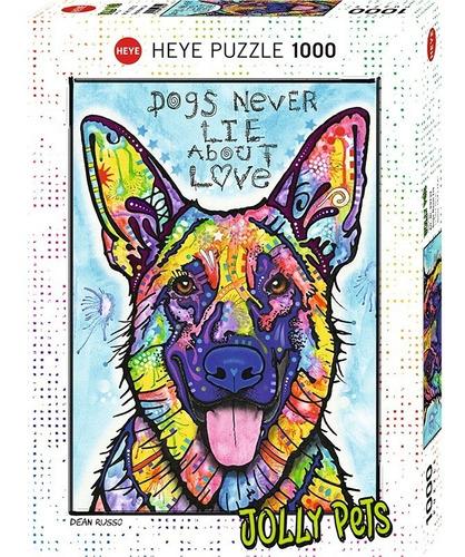 Rompecabezas 1000 Piezas, Dean Russo: Jolly Pets / Perro