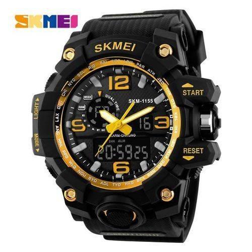 Relógio Skmei 1155 Digital E Analógico Estilo Militar Sport