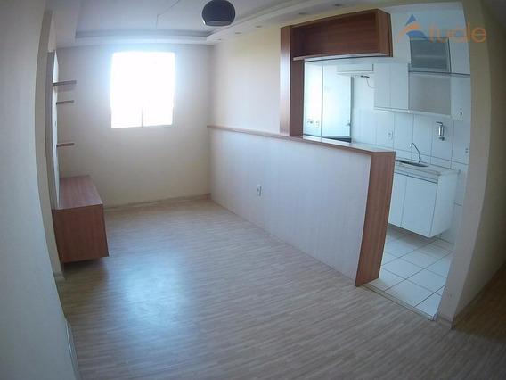 Apartamento Residencial À Venda, Spazio Poeme, Jardim Vista Alegre, Paulínia - Ap2671. - Ap2671