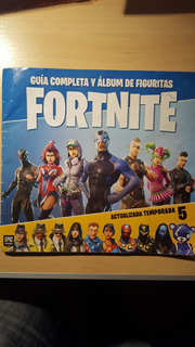 Album Incompleto Figuritas Fortnite