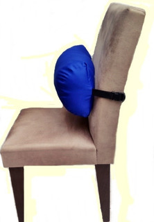 Apoio Coluna Lombar Almofada P/ Descanso Cadeira Escritorio