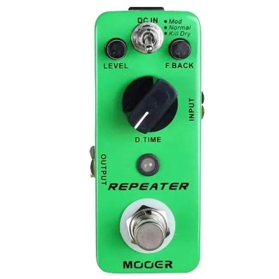 Pedal Para Guitarra Mooer Repeater Delay Carbon Copy