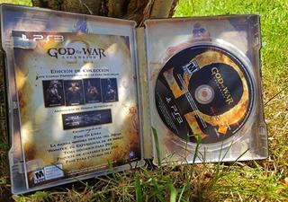 God Of War Ascention Caja Metálica Ps3