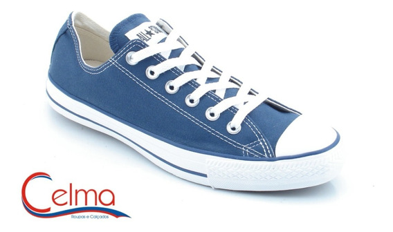 Ct114128 All Star Converse Tradicional Original Marinho