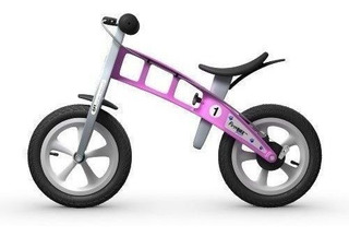 Firstbike Calle Bike Con Freno Rosa