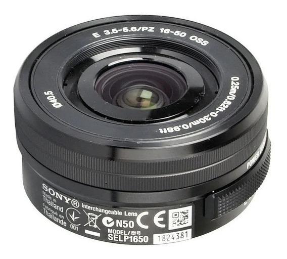 Lente Sony E Pz 16-50mm F/3.5-5.6 Oss - Selp1650