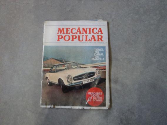 Revista Mecânica Popular Mercedes 230-sl