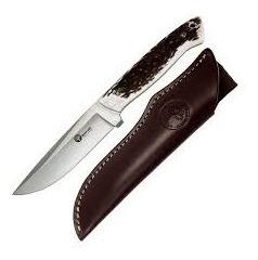 Cuchillo Boker 312h Matrero H Inox Hoja 11cm Vaina Cuero