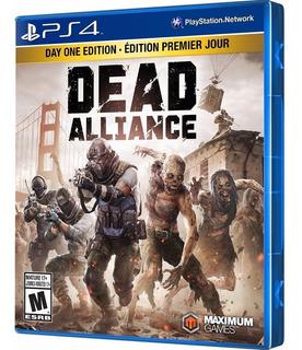 Video Juego Ps4 Dead Alliance - Nuevo Sellado