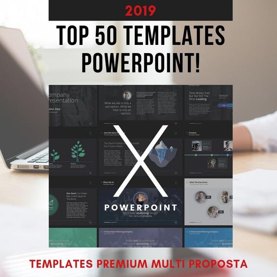 Templates Slides Powerpoint 50 Apresentações Powerpoint 2019