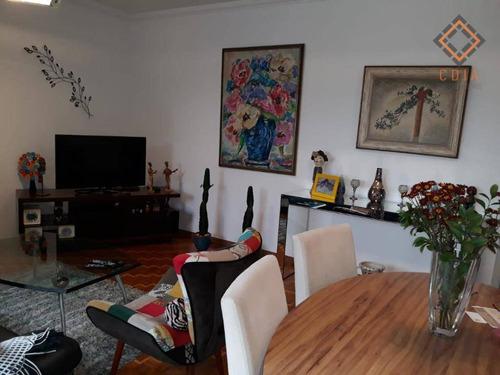 Apartamento Com 3 Dormitórios À Venda, 95 M² Por R$ 950.000,00 - Vila Clementino - São Paulo/sp - Ap43053