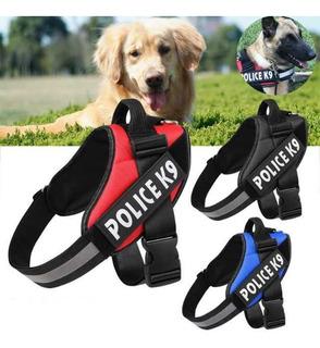 Arnes K9 Para Perros Grandes Police K9, Tallas L, Xl, Xxl