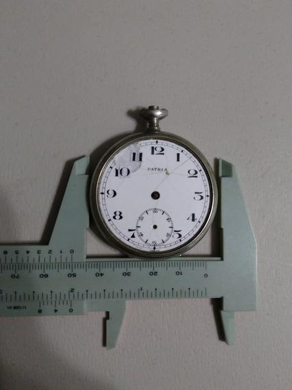 Reloj De Bosillo Patria,omega 1925 Listo Para Reparar