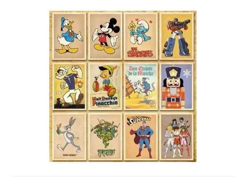 Imagen 1 de 4 de Juego De 32 Postales Dibujos Animados