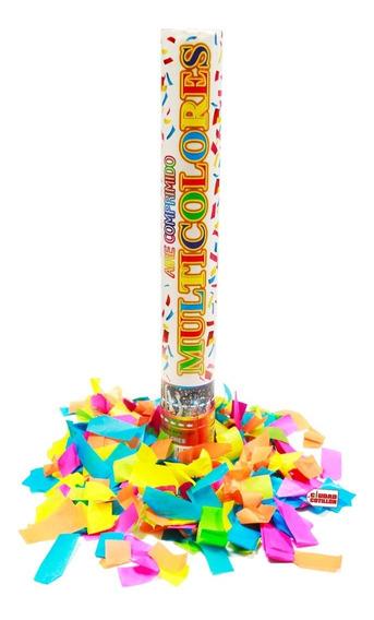 Cañón Lanza Papeles Multicolor Confetti - Ciudad Cotillón