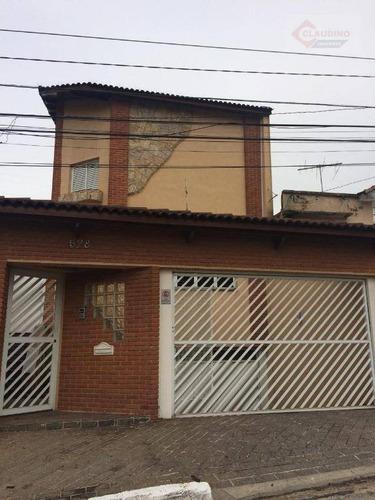 Sobrado Com 4 Dormitórios À Venda, 450 M² Por R$ 1.600.000,00 - Parque Da Vila Prudente - São Paulo/sp - So1201