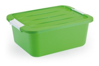 Caixa Top Box Color 30 Litros Verde Monte Libano Tb1395