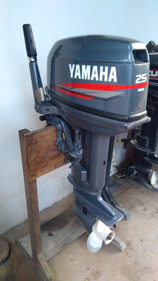 Motor De Popa 25 Hp 2 Tempos - Yamaha