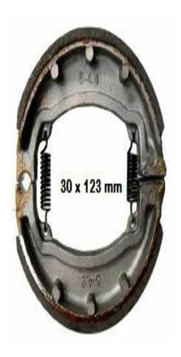 Refacción Carabela Juego Balatas Traseras Moto Kronos 150