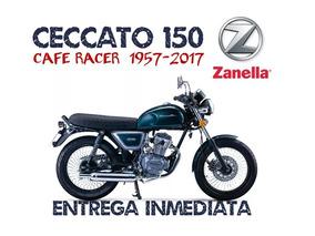 Moto Zanella Ceccato 150 Cafe Racer Retro 0km 2018