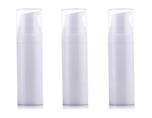 0800640cdbb7 3pcs Airless Pump Bottles-empty Portable Plastic Mini Bayone