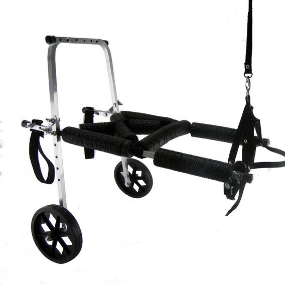 Cadeira De Rodas Cachorro Médio Porte 8 A 15 Kg Regulavel