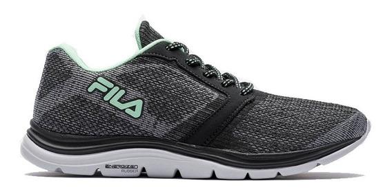 Zapatillas Fila Twisting 2.0 W Gr/ve/ne - Corner Deportes