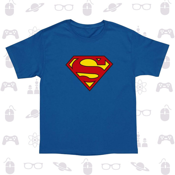 Playera Niño Superheroes Batman Flash Linterna Superman