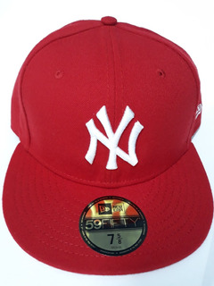 Gorra New York Yankees Roja New Era Original Varias Medidas