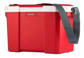Caixa Termica 24l Alladin Com Alça - Vermelha