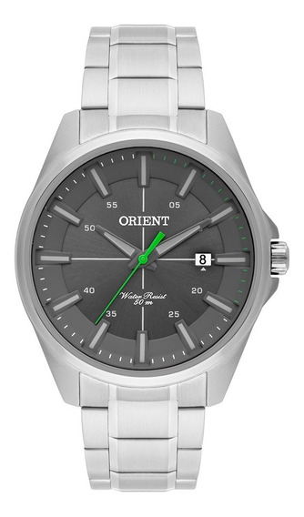 Relogio Orient Mbss1294 Masculino Prata